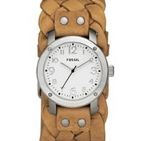 Fossil Imogene Leather Watch - Tan