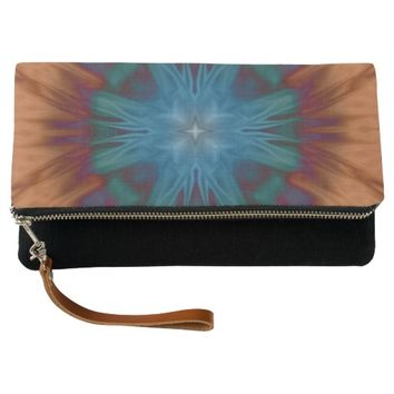 Copper Blues Clutch