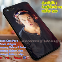 Hi Handsome Harry Styles iPhone 6s 6 6s+ 6plus Cases Samsung Galaxy s5 s6 Edge+ NOTE 5 4 3 #music #1d dl3