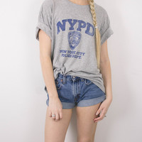 Vintage NYPD New York Police T Shirt