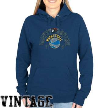UCLA Bruins Ladies Half Court Shot Pullover Hoodie - Light Blue