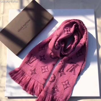 One-nice™ Louis Vuitton Woman Men Fashion Cashmere Warm Cape Scarf Scarves