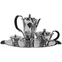Georg Jensen Pyramid Coffee/Tea Service No. 600