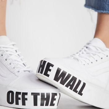 Free People Vans Authentic Platform Sneaker