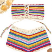Crochet Two Piece Set