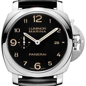 2d36a67b9c6 Panerai Men s Quartz Brass and Canvas Watch