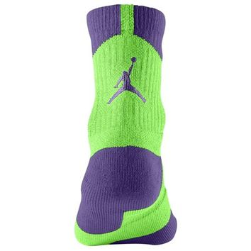 Jordan AJ Dri-Fit High Quarter Sock at Foot Locker