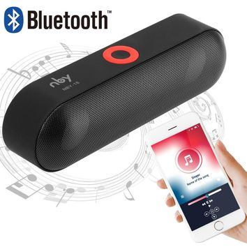 Wireless Bluetooth Speaker with Microphone
