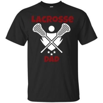 Lacrosse Dad LAX Proud Dad T-shirt
