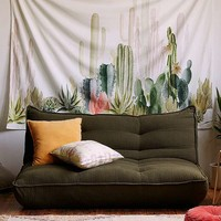 Cactus Print Landscape Tapestry   Urban Outfitters