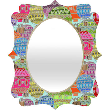 Sharon Turner Candy Sky Quatrefoil Mirror