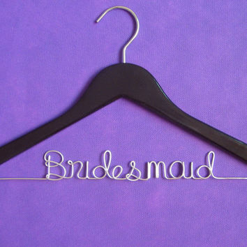 Personalized Wedding Dress Hanger,Bridesmaid Hanger, Name Hanger, Bridal Gift,With Beautiful gift box