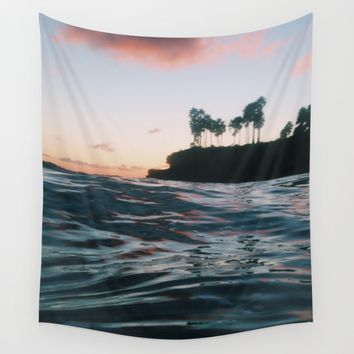 Afloat Wall Tapestry by Brian Biles | Society6