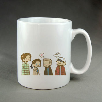 supernatural toon,coffee mug,tea mug,ceramic mug