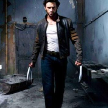 Wolverine Movie poster Metal Sign Wall Art 8in x 12in