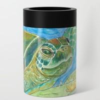 Leilani Miranda Sea Goddess Can Cooler by catherineholcombe