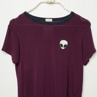 TORI ALIEN PATCH TOP
