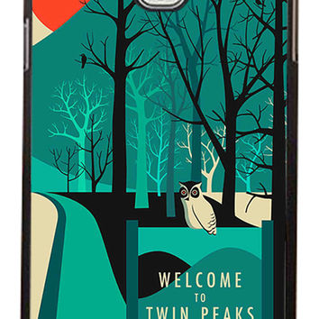 Twin Peaks Welcome To Twin Peaks Samsung Galaxy Note 3 Cases - Hard Plastic, Rubber Case