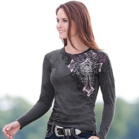 Ladies' Cowgirl Up Cowgirl at Twilight Top - Weatherbeeta - Shop by Brand