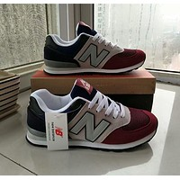 """New Balance""Unisex Sport Casual Multicolor Low Help Shoes Sneakers Couple Plate Shoes"