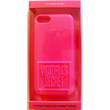 Victoria's Secret Pink Flexible Hard Case Iphone 5/5S/5C