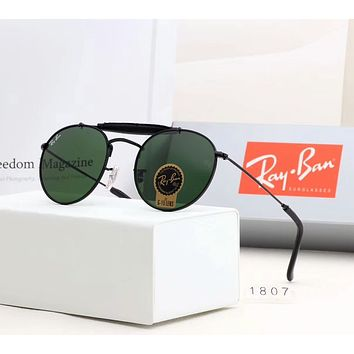 RayBan Ray-Ban Stylish Unisex Simple Summer Sun Shades Eyeglasses Glasses Sunglasses Army Green I-A-SDYJ