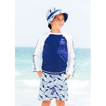 Shark Reversible Kids Bucket Hat