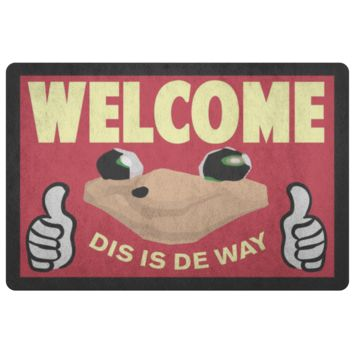 DO YOU KNOW THE WAY - Ugandan Knuckles - VRchat Meme - Doormat