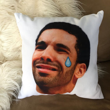Crying Tear Drake Pillow