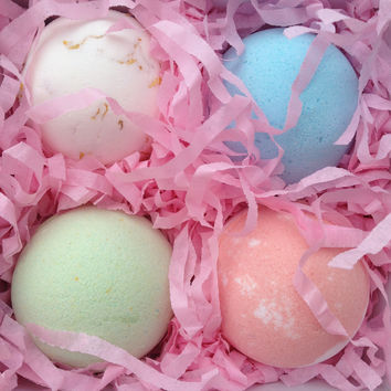 Bath Bomb Gift Box, Set of 4