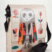 Hoo Messenger Bag with Pencil Case