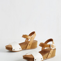 ModCloth Vintage Inspired Good Enough to Treat Sandal