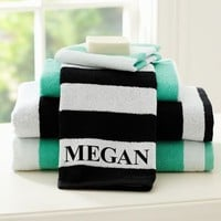 Cottage Stripe Towels