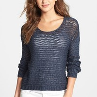 RD Style Crop Open Stitch Sweater