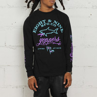 Aqua 8 L/S T Shirt Yopper Club