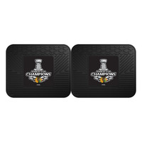 Chicago Blackhawks 2015 NHL Stanley Cup Champions Utility Mat (14x17)(2 Pack)