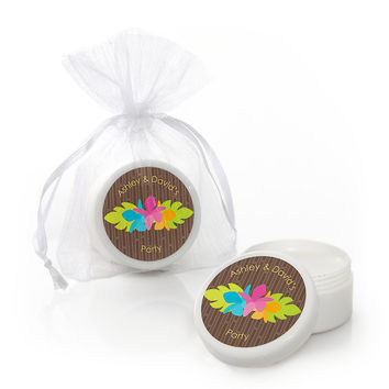 Luau - Personalized Everyday Party Lip Balm Favors
