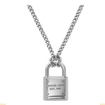 Gift Shiny Jewelry New Arrival Accessory Lock Sweater Chain Stylish Fashion Necklace [4956913860]