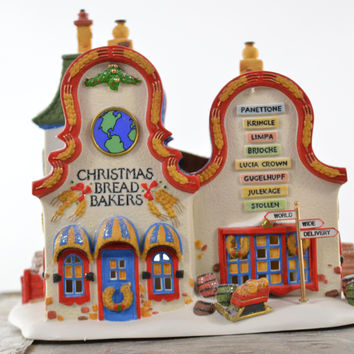 Department 56 North Pole Series Christmas Bread Bakers