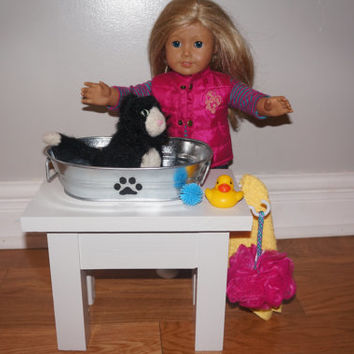 Pet Wash Stand for American Girl & 18-inch Dolls