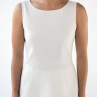 Moschino Boutique peplum top white