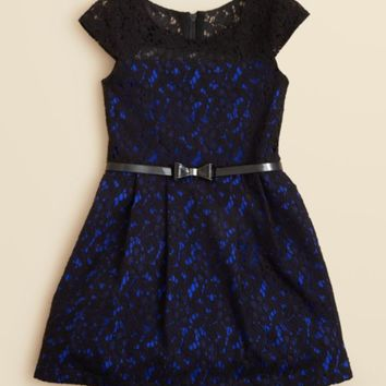 Zoe Girls' Lace Overlay Dress - Sizes 7-16 | Bloomingdales's