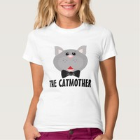 The CATMOTHER Cat Mom t-shirts, Funny Tees