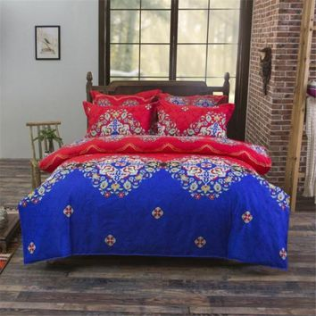 Cool UNIKEA Bohemia Exotic Patterns Boho Bedding Mandala Duvet Cover Set Bedspread Sheet Pillowcase Single Twin Full Queen King SizeAT_93_12
