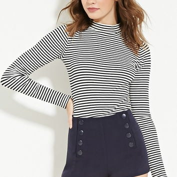Snap-Button Sailor Shorts