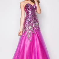 Blush Prom Dresses and Evening Gowns Blush Style 9586