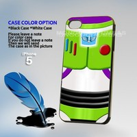 Buzz Lightyear toy story, Print on Hard Cover iPhone 5 Black Case