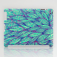 Natural leaves iPad Case by Claudia Owen