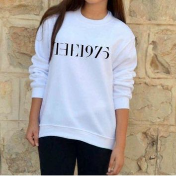 MDIGJ1A [the 1975] fashion new men and women cotton sweater