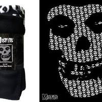 Misfits- Skull Fleece Blanket - Blankets/Fleece
